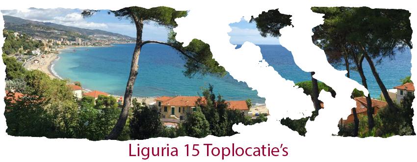 Liguria 16 top locatie's