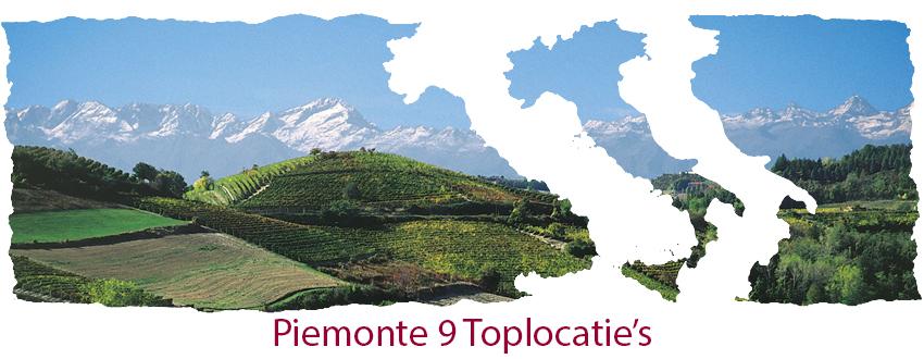 Piemonte 9 top locatie's