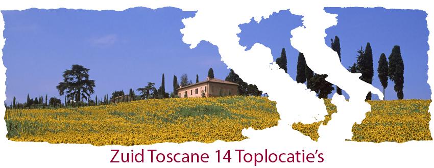 Zuid toscane 16 top locatie's
