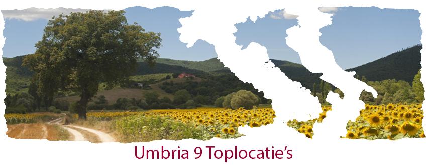 Umbria 9 top locatie's