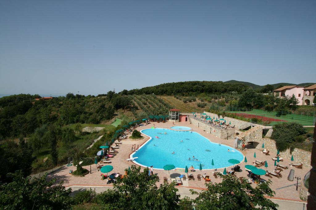 Borgo San Pecoraio zwembad
