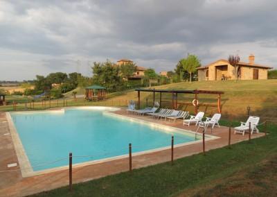 Zwembad Torretta in Umbria