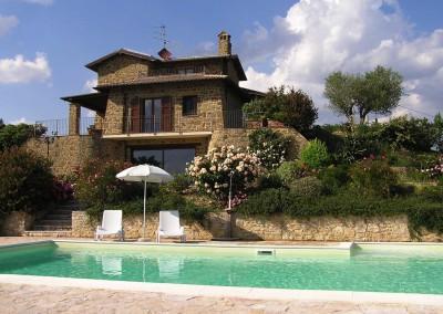 zwembad Villa le Due Piscine