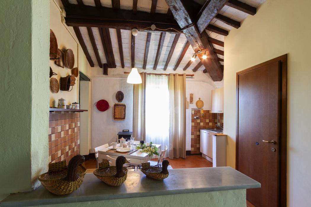 Agriturismo Lupinaio appartement Pioppo Toscaanse kust Casamia vakantie onder de italiaanse zon-07